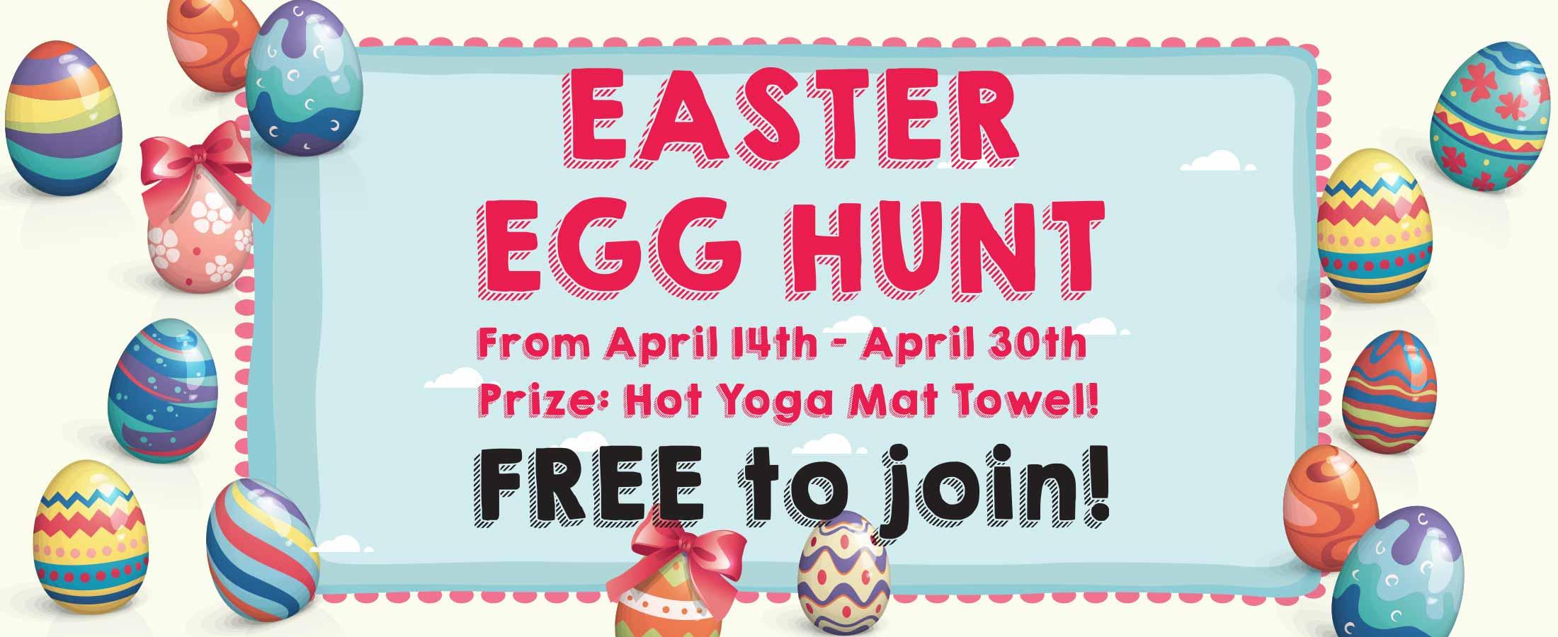 easter egg hunt hot yoga markham