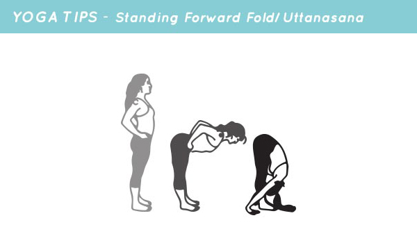 yoga tips standing forward fold